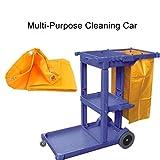 Waterproof High Capacity Housekeeping Commercial Janitorial Cleaning Cart Bag