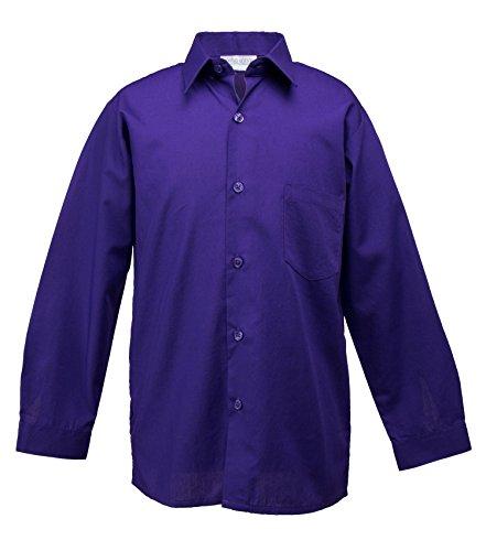 24 month purple dress shirt - 6