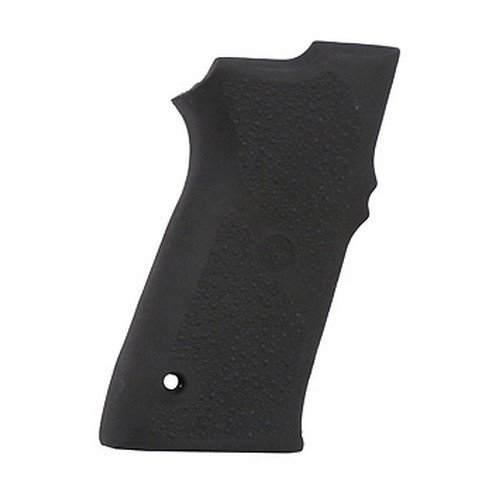 Hogue 40010 Rubber Grip for S&W, Full Size 9mm/40 Caliber