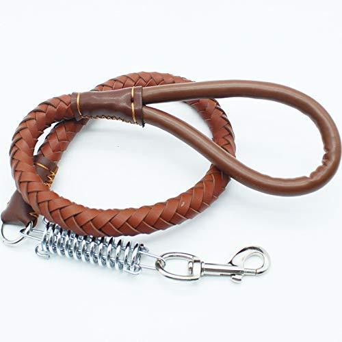 HSDDA Guinzaglio per Cani Guinzaglio per Animali Domestici Cinghia di trazione a Collare Larga e Media con Collare per Cani Guinzaglio a Piedi