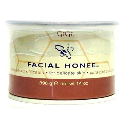 Gigi Tin Honee Wax Facial 14 oz. (Pack of 2)