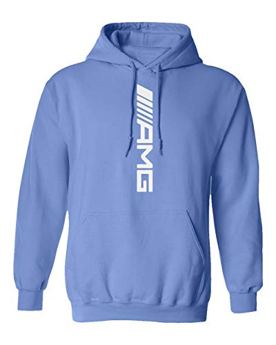 TURXIN New Graphic Car Racing Motorsport Speed Boys Girls Youth Hooded Sweatshirt (Carolina Blue, Youth Large)