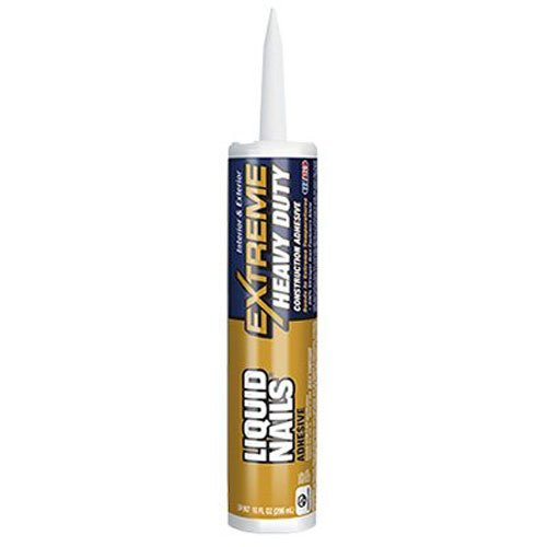 PPG ARCHITECTURAL COATINGS GLUES & CEMENTS 1030411 Liquid Nails Extreme Heavy-Duty, 10 oz Cartridge