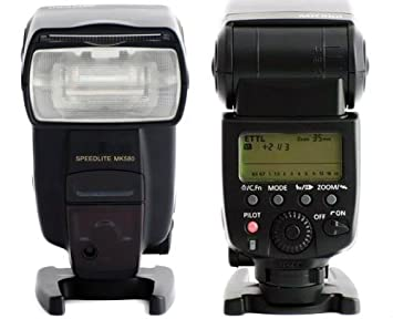 Speedlite MK580 - Flash para Canon EOS Cámara réflex: Amazon.es ...