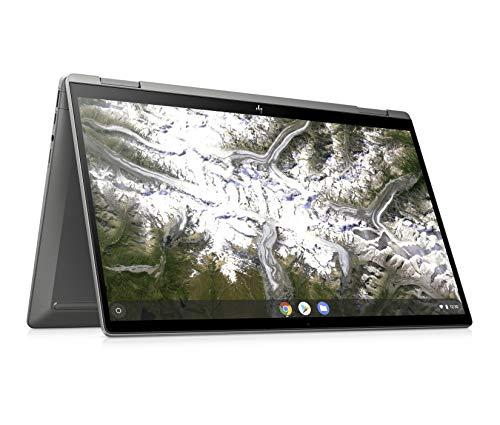 HP Chromebook X360 14c-ca0003na 14 Inch Full HD Touch-screen Display, (Silver) (Intel Pentium Gold 6