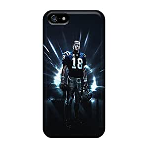 Iphone 5/5s QWZ12608wGEC Provide Private Custom Lifelike Indianapolis Colts Image Shock Absorbent Hard Phone Covers -KimberleyBoyes