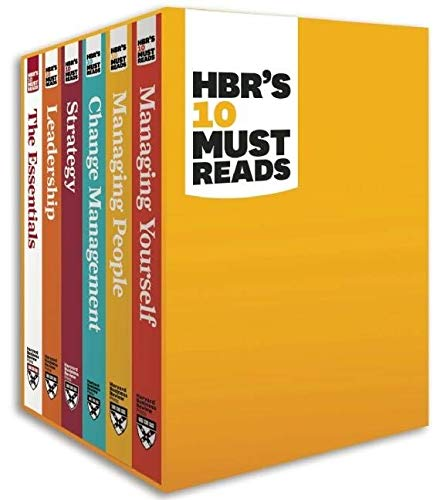 HBR's 10 Must Reads Boxed Set (6 Books) (HBR's 10 Must Reads) Paperback – November 1, 2011
