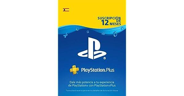 PlayStation Plus Suscripción 12 Meses   Código de descarga PSN ...