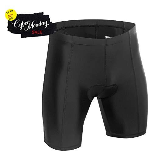 Padded Triathlon Shorts - Triathlon Shorts for Men | Men's Tri Shorts | 3D Padded Compression Triathlon Race Suit [Quick-Dry]