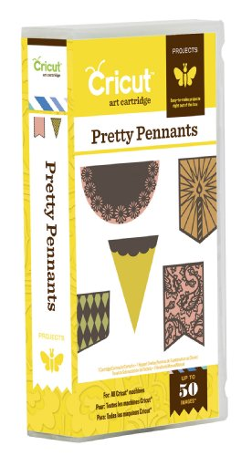 Cricut Pretty Pennants Cartridge by Cricut