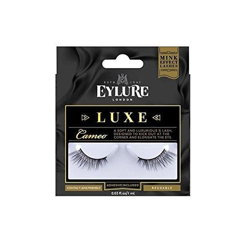 デラックスコレクションまつげ - カメオ(ミンク効果) x4 - Eylure Luxe Collection Lashes - Cameo (Mink Effect) (Pack of 4) [並行輸入品] B072L3X9GL
