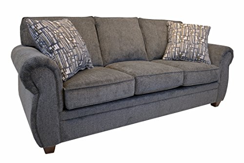 Amazon.com: Common Home CH0176 Whitney Sleeper Sofa Grey ...