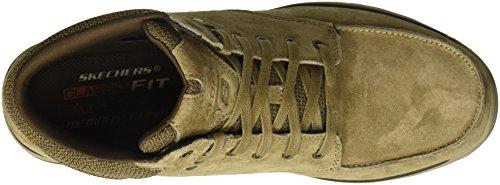 Botín Garton Meleno Tobillo Skechers Hombres Bronceado Outlet de primera calidad mes7MSaig