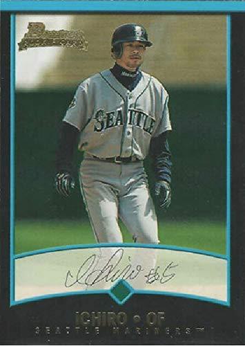 2001 Bowman Draft Picks & Prospects - ICHIRO Suzuki - Seattle Mariners Baseball Rookie Card RC ()