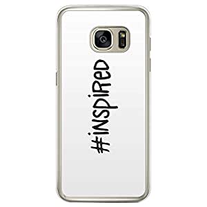 Loud Universe Samsung Galaxy S7 Edge Inspiration #Inspired Printed Transparent Edge Case - White