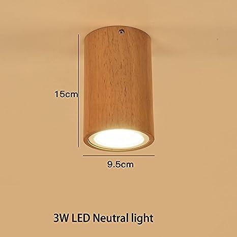 Fufu Illuminazione Per Interni Faretti Lampada Da Soffitto In Legno