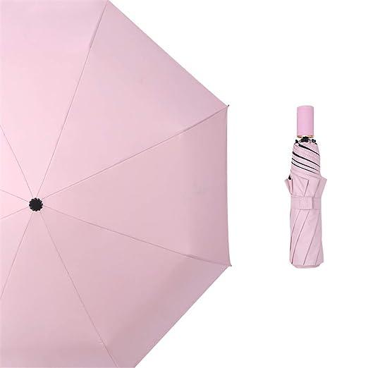 Paraguas Plegable con Compacto y Ligero a Prueba de Viento y Agua ...