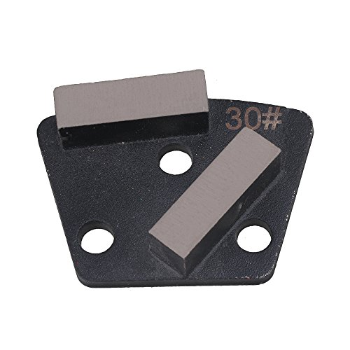 Diamond Bond Metal Grinding Disc (CNBTR B Type PCD Diamond Steel Metal Concrete Trapezoid Grinding Pad Block Scraper Soft Bond Disc Grit 30#)