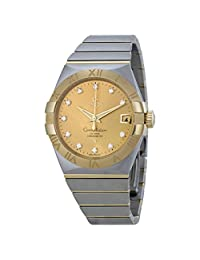 Omega Constellation Automatic Champagne Dial Mens Watch 12320382158001
