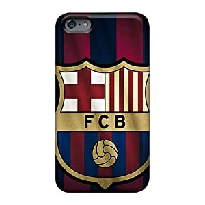 DeanHubley Apple Iphone 6s Excellent Hard Phone Covers Allow Personal Design Stylish Barcelona Fc Sports Pattern [NbI1775FwDJ]