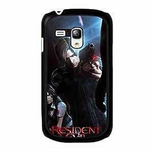 Resident Evil Phone Custodia, Resident Evil Samsung Galaxy S3Mini, Resident Evil Hard Plastic Black Cover