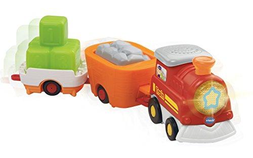 [해외]ech Go! 가기! 스마트 휠 캐리 - 모든화물 열차/VTech Go! Go! Smart Wheels Carry-All Cargo Train