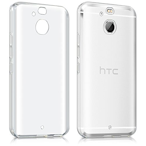 kwmobile Crystal Case for HTC 10 evo - Soft Flexible TPU Silicone Protective Cover - Transparent