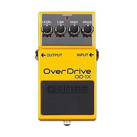 Boss OD 1X Overdrive Pedal Guitars   Gear