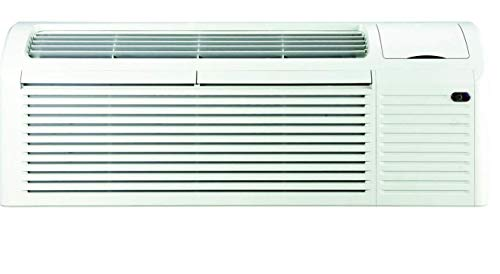 TOSOT, 9,000 BTU PTAC Air Conditioner with Heat Pump/Electric Heat Backup, 230/208 Volt, by GREE, Cord, Sleeve, Grill Sold Separately (PTAC with 15AMP Cord) ()