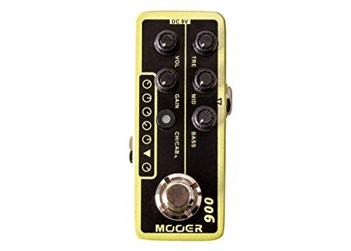 Mooer Micro Preamp 006 Classic Deluxe w/Bonus RIS Pick (x1) 6943206792154 by MOOER