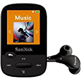 SanDisk Clip Sport 8GB MP3 Player wiith LCD Screen and MicroSDHC Card Slot- Black - SDMX24-008G-G46K (Certified Refurbished)