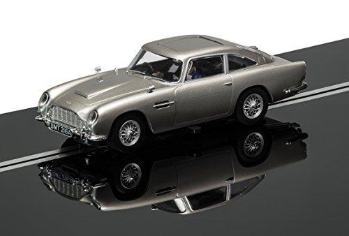 Scalextric 1:32 Scale James Bond Aston Martin DB5 Goldfinger Slot Car by Scalextric - Scale James Bond