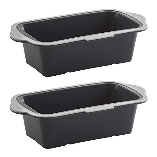 Trudeau Loaf Pan Bundle (Black/Gray, Set of 2) (2 Items)