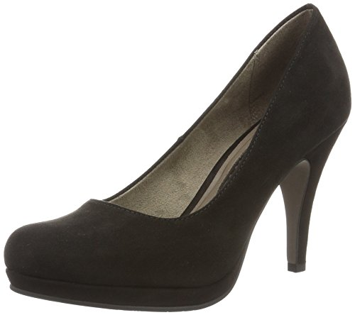 001 Schwarz Femme Noir Tamaris 35 EU Black 001 22407 Escarpins Black w1xvqHg