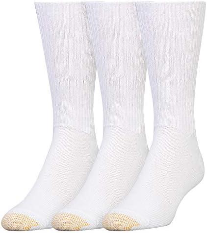 Gold Toe Men's Fluffies Crew Socks, Multipairs