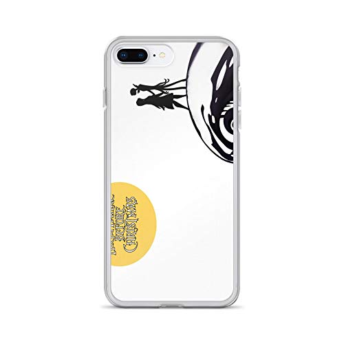 iPhone 7 Plus/8 Plus Case Anti-Scratch Motion Picture Transparent Cases Cover Nightmare Before Christmas Movies Video Film Crystal Clear -