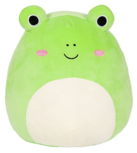 Kellytoy Squishmallow 8 Inch Wendy the Frog Super Soft Plush Toy Pillow Pet