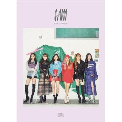 (G)I-DLE - [I Am] 1st Mini Album CD+100p Booklet+2p PhotoCard+2p Sticker K-POP Sealed