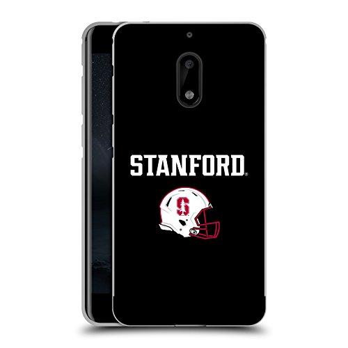 Official Stanford University The Farm Helmet Logotype Black Metallic Aluminum Bumper for Nokia ()