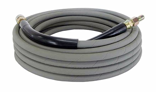 Pressure Parts 00101QC Non-Marking Pressure Washer Hose - 4000 PSI 50 ft. Length 50 Gray with Couplers