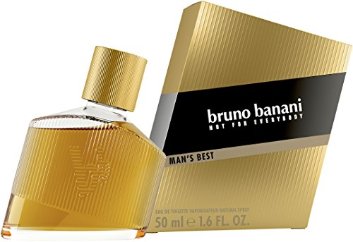 bruno banani Man's Best – Eau de Toilette Herren Parfüm Natural Spray – Eleganter, maskuliner Premiumduft für Männer – 1er Pack (1 x 50ml)