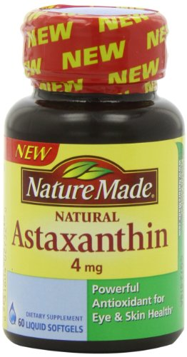 Nature Made Astaxanthin 4 Mg, 60 Count, Health Care Stuffs