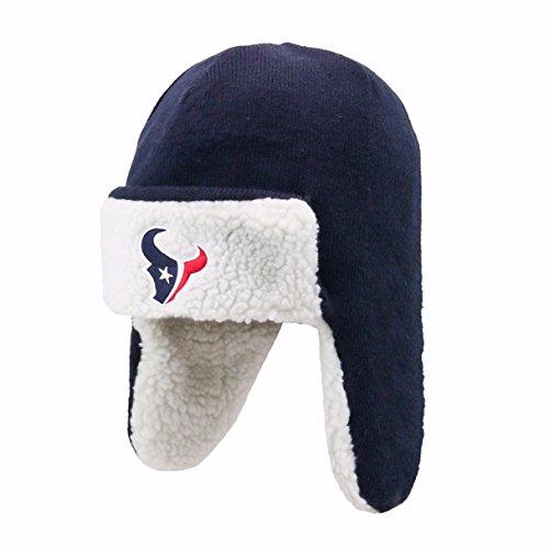 NFL Houston Texans Breck OTS Knit Cap, One Size, Navy