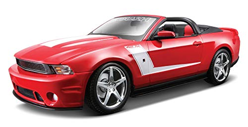 Caliper Cast - Maisto 1:18 Scale 2010 Roush 427R Ford Mustang Diecast Vehicle (Colors May Vary)