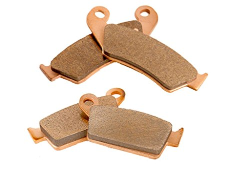 1996 - 2004 Honda XR400R XR 400 R Front And Rear Severe Duty Brake Pads