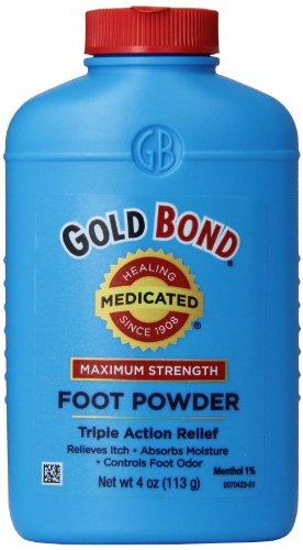 Gold Bond Maximum Strength Foot Powder, 4 Ounce