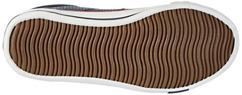 Dockers by Gerli Unisex-Kinder 40ti601-610660 Low-Top Blau (Navy 660)