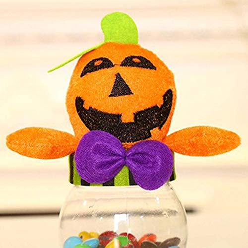 Cute Halloween Gift Bags (Funny Halloween Gift Bags Cute Witch Doll Candy Bag Creative Trick or Treat Bag Goodie Storage Holder for Kid)