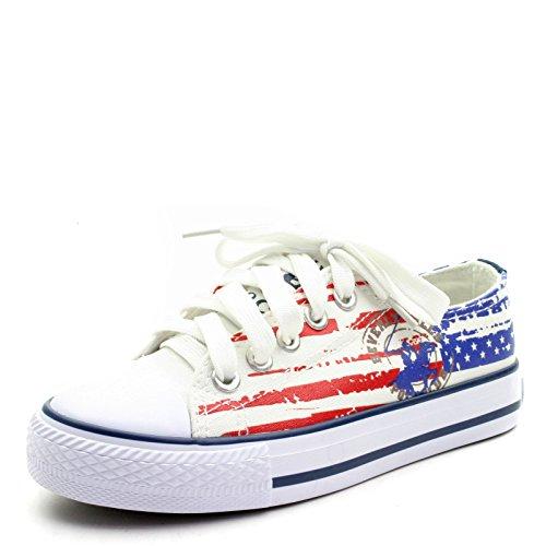 Beverly Hills Polo Club  S16bh5059,  Mädchen Jungen Unisex Kinder Sneaker Low-Tops Weiß