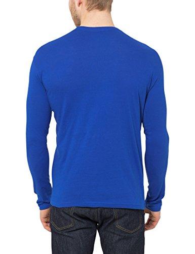 A Lower 5 T Maniche Blu shirt Lunghe Victoria East Da UomoPacco xeCordB